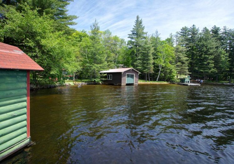 Adirondack Camp for Sale Waterfront | Inlet NY Real Estate